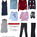 My Friend Elle's first wardrobe capsule for March 2015