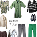 My Friend Elle's second weekly capsule wardrobe for March 2015
