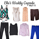 My Friend Elle picks out a weekly capsule for the week of May 5th - 12th 2015