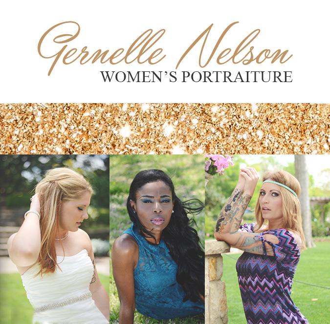 Gernelle Nelson is a women's portrait photographer