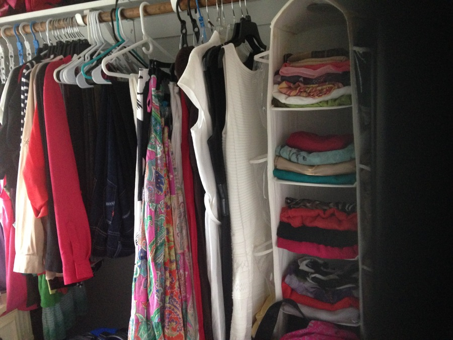 Tackling Mom's Wardrobe