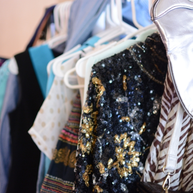 Our gently used clothes.