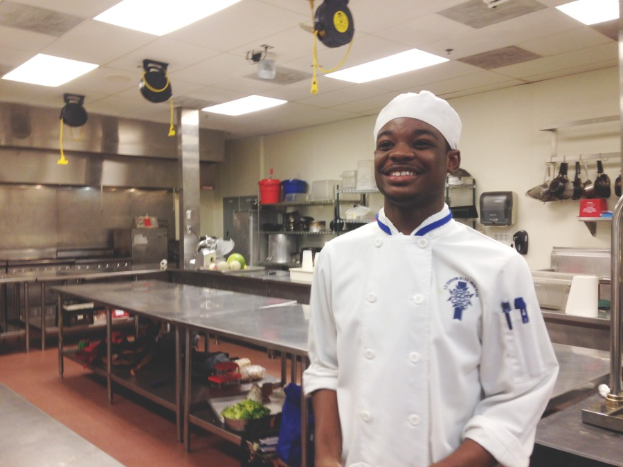 Elleword - My nephew Gerry is studying the culinary arts at the Cordon Bleu in Dallas, TX