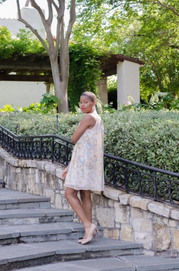 I love modest cut dresses