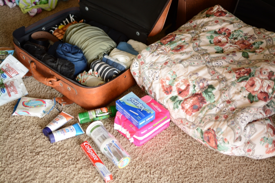 Elleword - my camping gear! Even though I'll be in the woods, I still want to look cute, lol