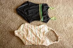 Elleword - I can't believe I found two bathing suits at the Salvation Army